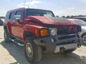 Salvage HUMMER H3